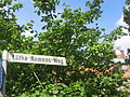 Straßenschild Lütke-Namens-Weg beim Alten Gymnasium, Flensburg, weiteres Bild.JPG
