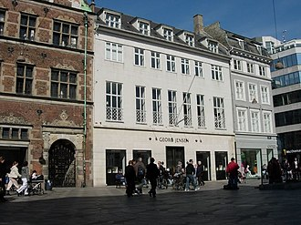 Georg Jensen - A Georg Jensen shop at Strøget, Copenhagen