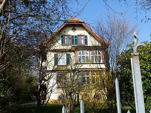 Stuttgart, Waldstraße 3, Villa Hugendubel