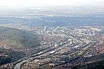 Stuttgart-Untertuerkheim-Wangen-Gaisburg-Neckarhafen-Daimler-Gaskessel-2011.JPG