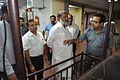 Subhabrata Chaudhuri Explains Exhibit to Anil Vij - CRTL Workshop - NCSM - Kolkata 2016-10-07 8180.JPG