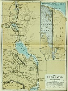 Suez canal wikipedia the canal ca 1914 gumiabroncs Image collections