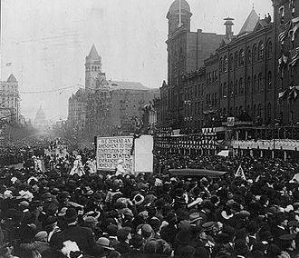 Women in government - Suffragette demonstration, 1913, Washington, D.C.