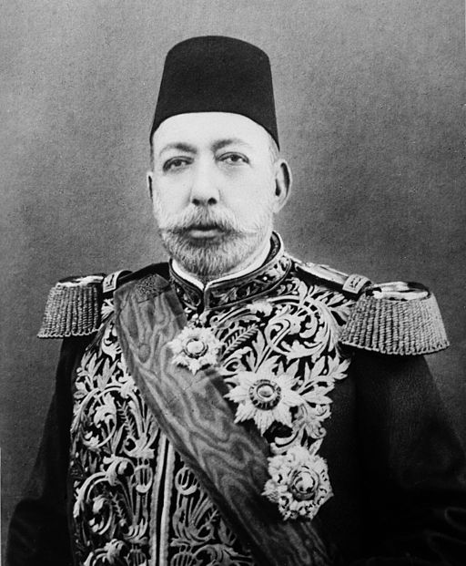 Sultan Mehmed V of the Ottoman Empire cropped