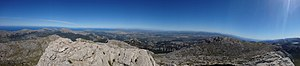 Puig de Massanella - Image: Summit view Puig Massanella 2017