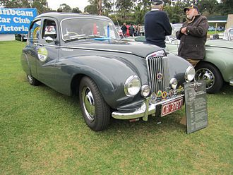 Sunbeam-Talbot 80 - Sunbeam-Talbot 80 sports saloon