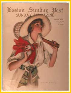Sunday Boston Post Magazine July 1914