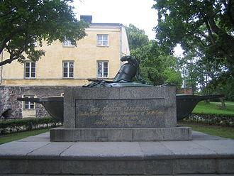Augustin Ehrensvärd - Image: Suomenlinna Ehrensvard grave