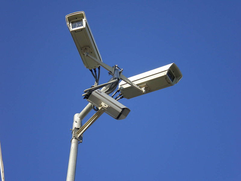 File:Surveillance video cameras, Gdynia.jpeg