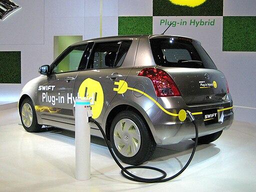 Suzuki Swift Plug-in Hybrid in Tokyo Motor Show 2009 rear