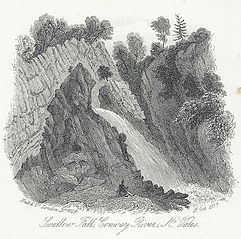 Swallow Fall, Conway River, no. Wales