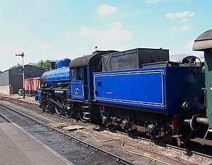 SJ B - SWB A2 101 has been preserved at the Nene Valley Railway in a non-authentic livery. The locomotives built for SWB were delivered with six-wheeled tenders of this type.