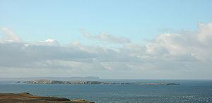 Swona - Swona, viewed from South Ronaldsay