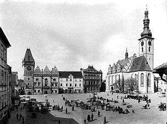 Tábor - Image: Tábor Žižka Square