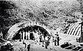 Túnel 9 de Julho em construção, 1937.jpg