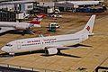 TC-AFJ B737-4Y0 Air Algerie-Pegasus LHR 15AUG00 (6311892820).jpg