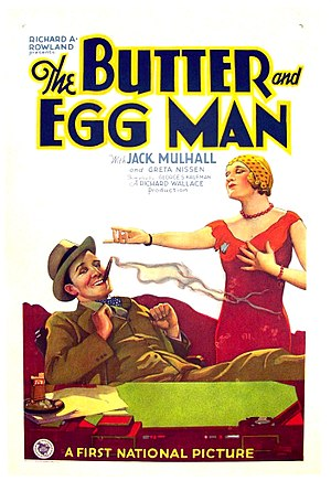 The Butter and Egg Man (1928 film) - Film poster