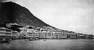 Victoria, Hong Kong - Praya Central, 1870s