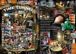 Time Tunnel (museum) - The museum is filled with memorabilia that serve as a reminder of what life was like in Malaysia during the pre-War years.