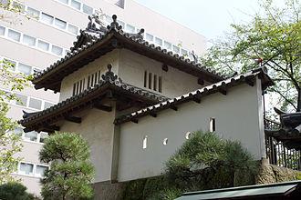 Takasaki Domain - Surviving yagura of Takasaki Castle, headquarters of Takasaki Domain