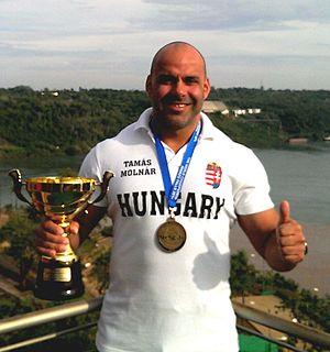 Tamás Molnár (powerlifter) Hungarian powerlifter