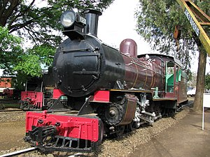 TR DL class - TR 301 at Nairobi Railway Museum, 2010