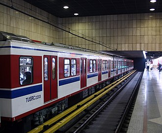 Transport in Iran - Tehran Metro