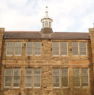 New Kilpatrick - Former Temple Primary School, built by New Kilpatrick School Board with local stone from Netherton