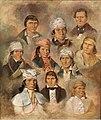Ten Potawatomi Chiefs by George Winter, c. 1837.jpg