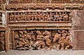 Terracotta art on the walls of Ananta Vasudeva temple.jpg