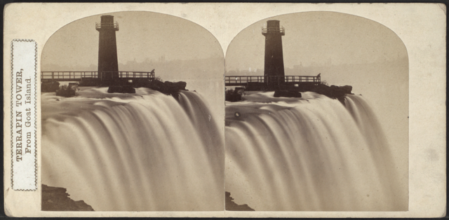 Terrapin Tower, from Goat Island, from Robert N. Dennis collection of stereoscopic views 3