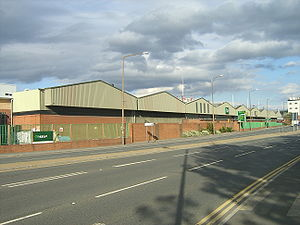Hunslet -  The former Tetley's Brewery in the Crown Point area of Hunslet, Leeds