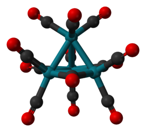 Cluster chemistry - Structure of Rh4(CO)12.