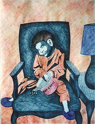 Larry D. Alexander - Image: The Artwork of Larry D. Alexander 007