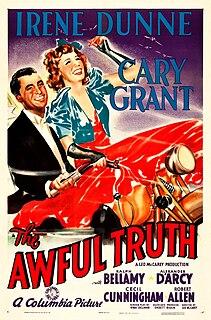 <i>The Awful Truth</i> 1937 film by Leo McCarey
