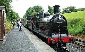 NBR C Class - 65243 on the Bo'ness and Kinneil Railway