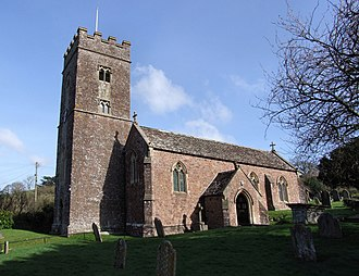 Grade II* listed buildings in Mid Devon - Image: The Church of St Mary the Virgin, Bickleigh, Devon (4444507961)