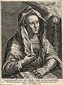 The Cimmerian sibyl. Engraving by C. de Passe II after C. de Wellcome V0035889.jpg