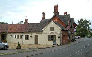 Martley village in the United Kingdom