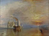 The Fighting Temeraire (1838) by J. M. W. Turner