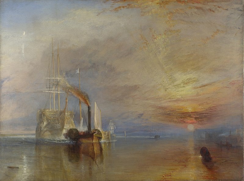 Fichier:The Fighting Temeraire, JMW Turner, National Gallery.jpg