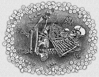 Dunstable Downs - Image: The Five Knolls dunstable grave bronze age