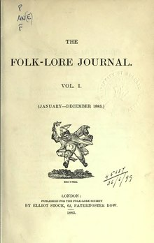 The Folk-Lore Journal Volume 1 1883.djvu