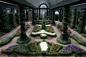 Duke Gardens (New Jersey) - Image: The French Garden at Duke Gardens