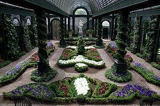 Duke Gardens (New Jersey) - Image: The French Garden at Duke Gardens