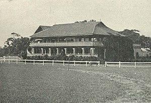 Gymkhana Club, Chennai - The Gymkhana Club in Madras, c. 1905
