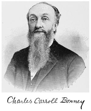 Charles C. Bonney - Image: The International folk lore congress, Charles Carroll Bonney