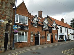 The Kings Arms public house, 1 Middle Street, Watton, 26 07 2010.JPG