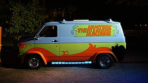 Scooby-Doo - The Mystery Machine at San Diego Comic-Con International in 2013