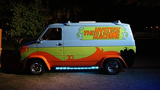 Scooby-Doo (film) - The Mystery Machine from the film at San Diego Comic-Con International in 2013